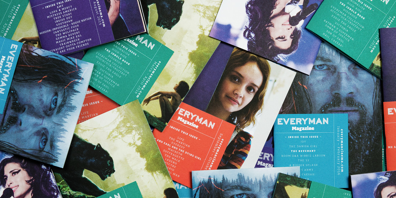 Everyman Magazine designed and created by Human After All