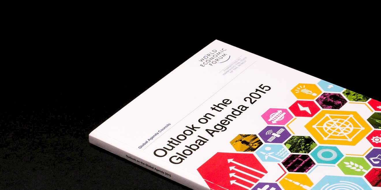 World Economic Forum: Outlook on the Global Agenda 2015 report by Human After All design agency