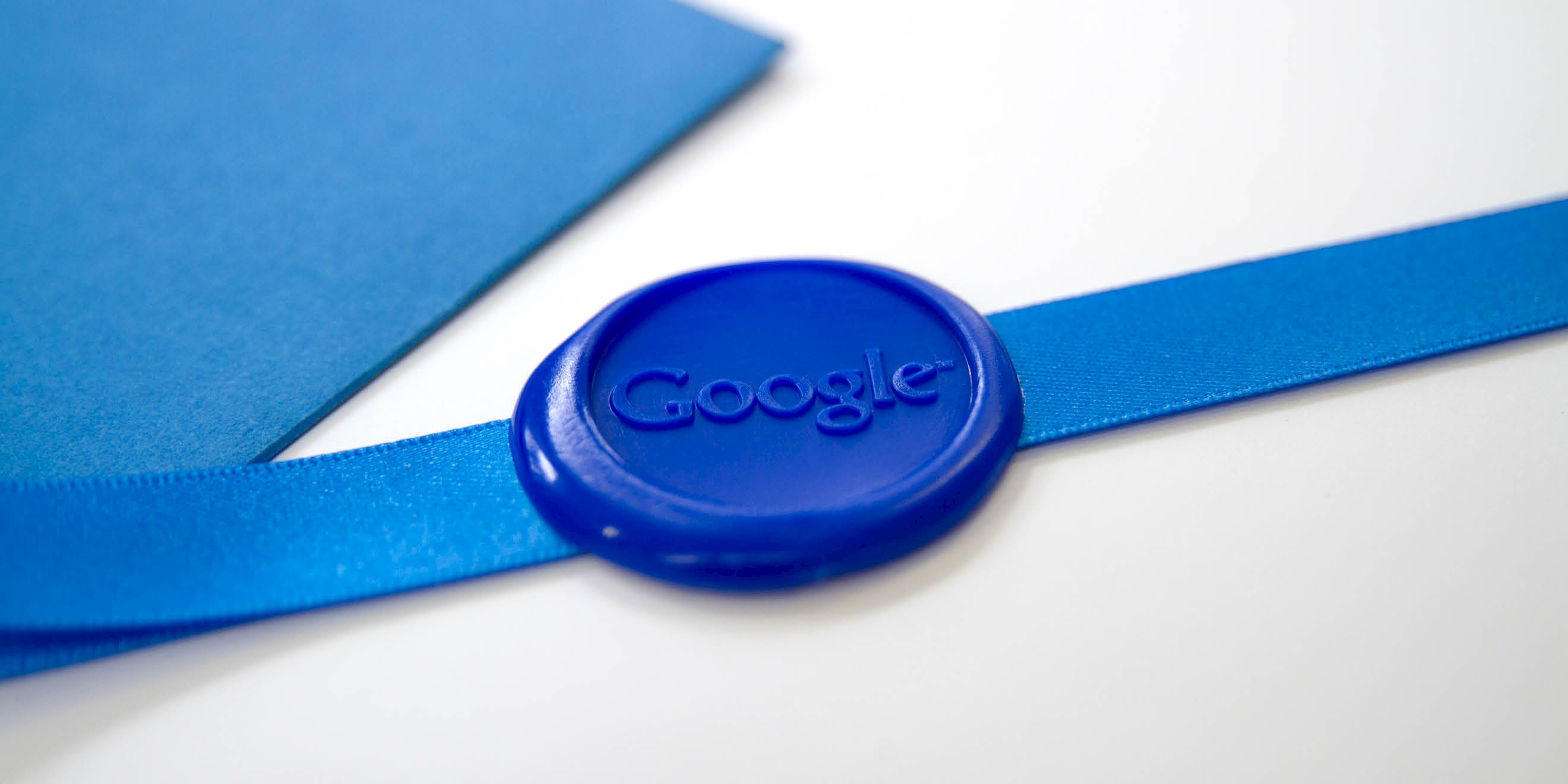 Google Think Quarterly magazine wax seal by Human After All