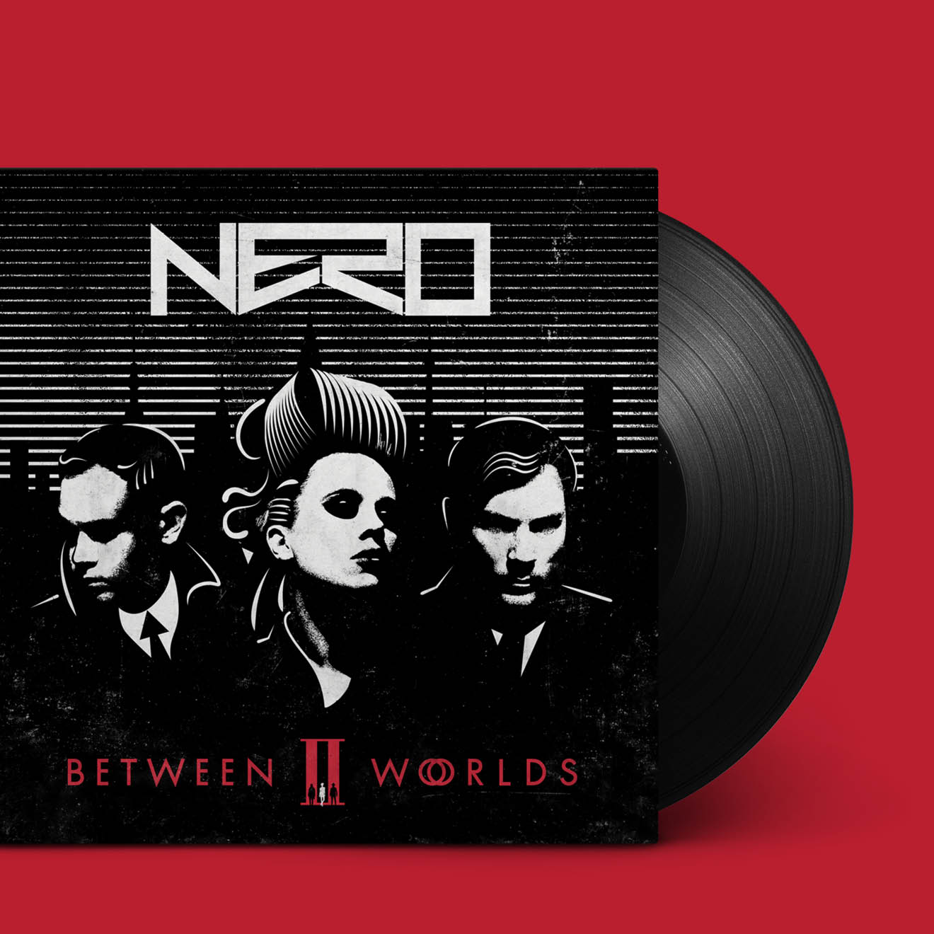 Nero: Between II Worlds album artwork designed by Human After All