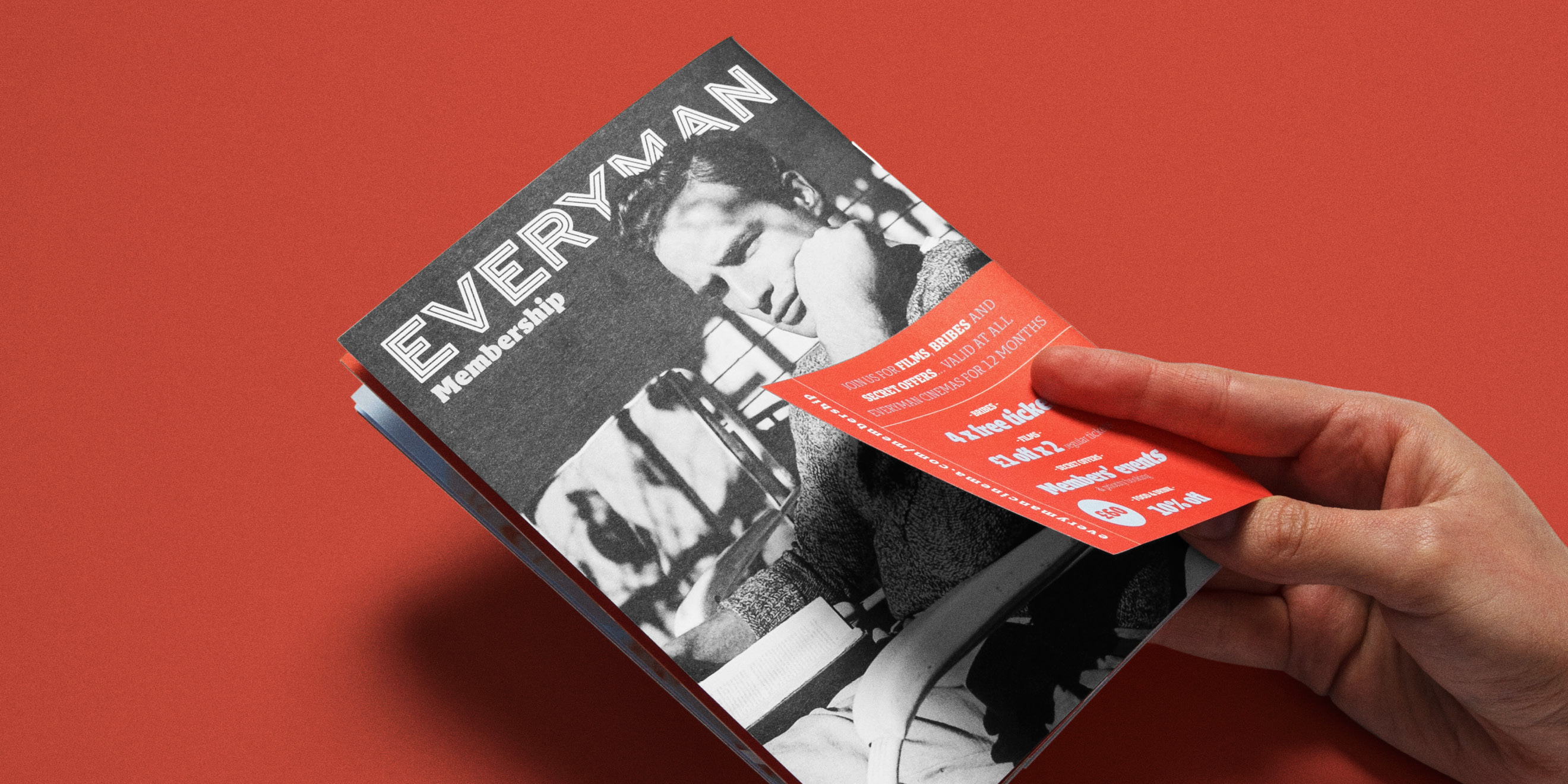 Everyman Cinemas Everyman Magazine cover overlay detail photography by Human After All