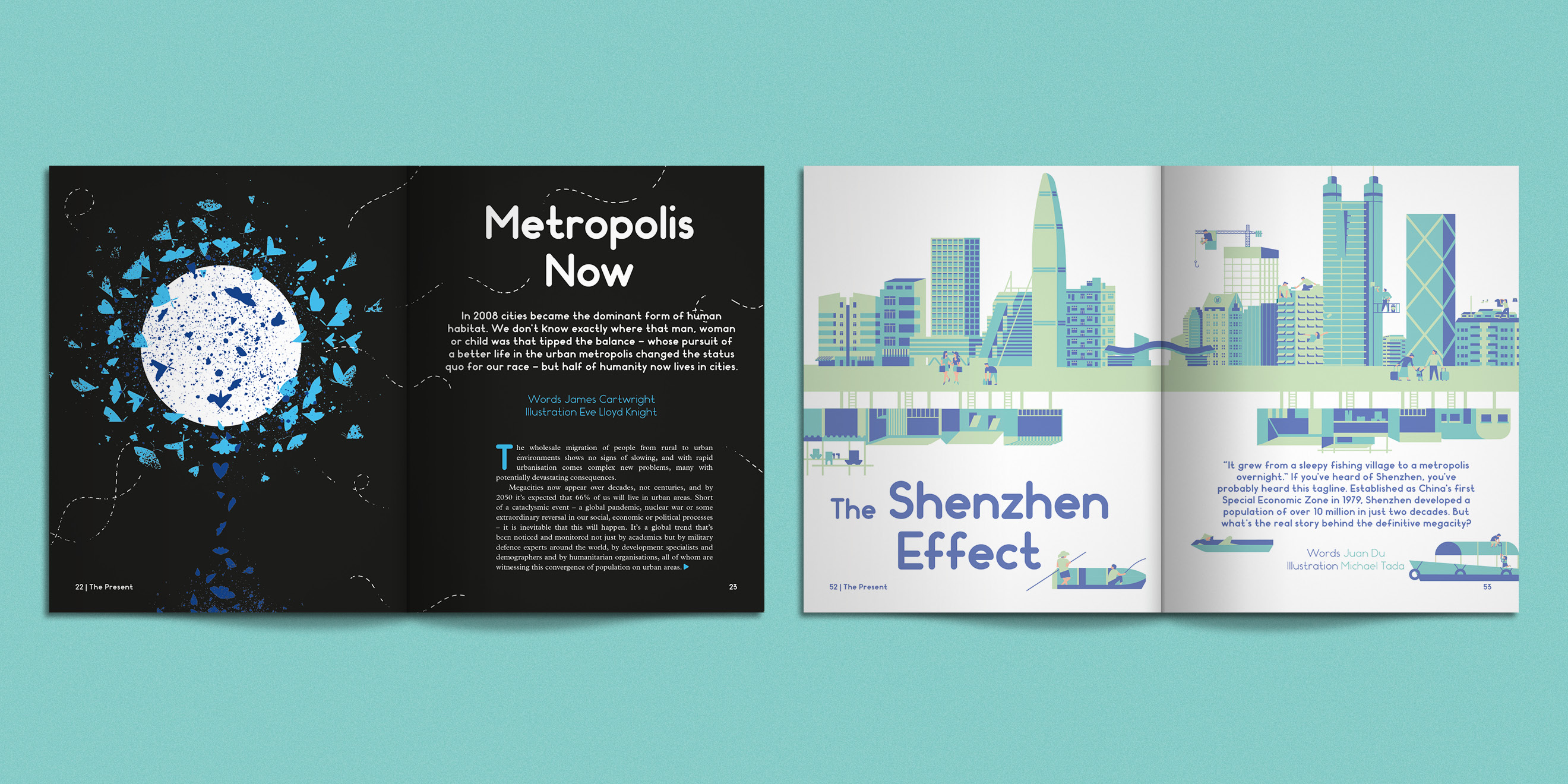 Editorial design from Weapons of Reason: Megacities - image 1