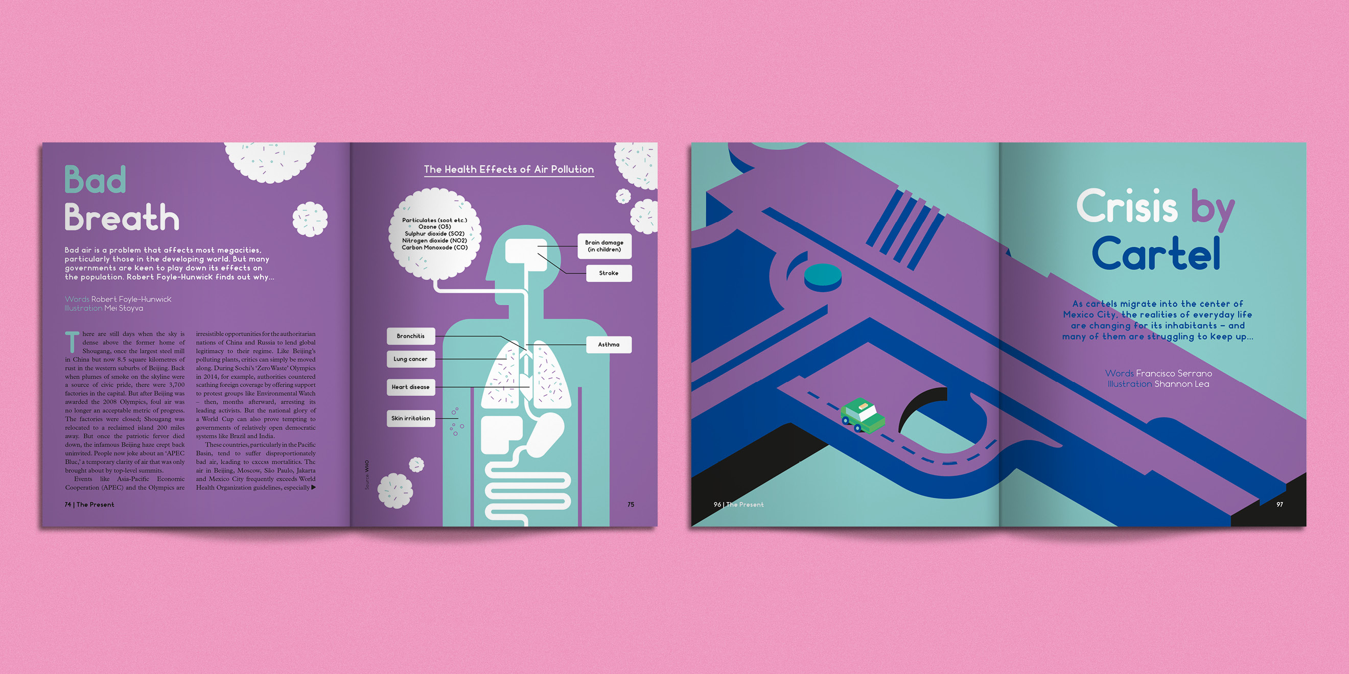 Editorial design from Weapons of Reason: Megacities - image 2