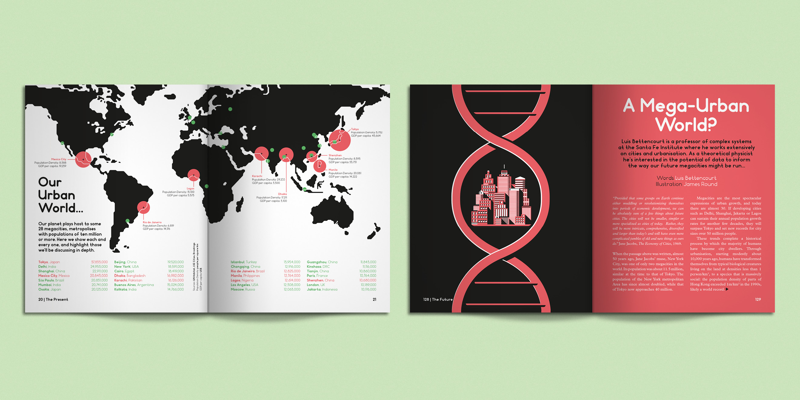 Editorial design from Weapons of Reason: Megacities - image 3