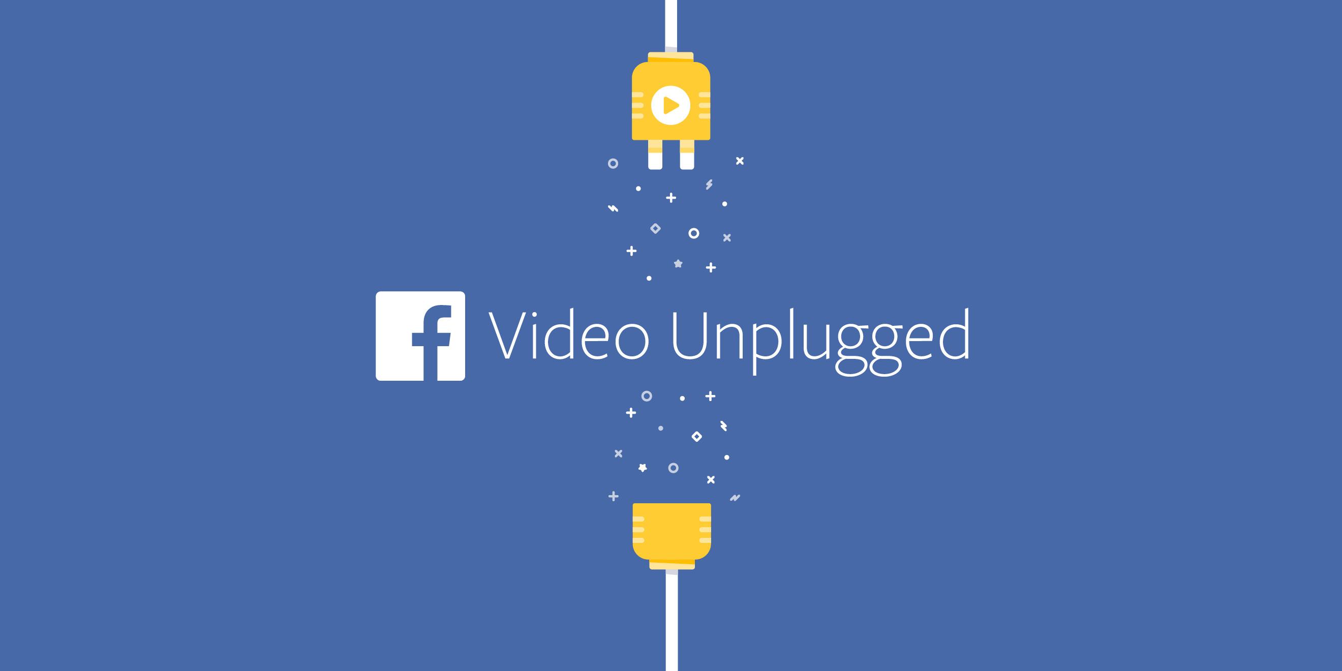 Facebook Video Unplugged event branding