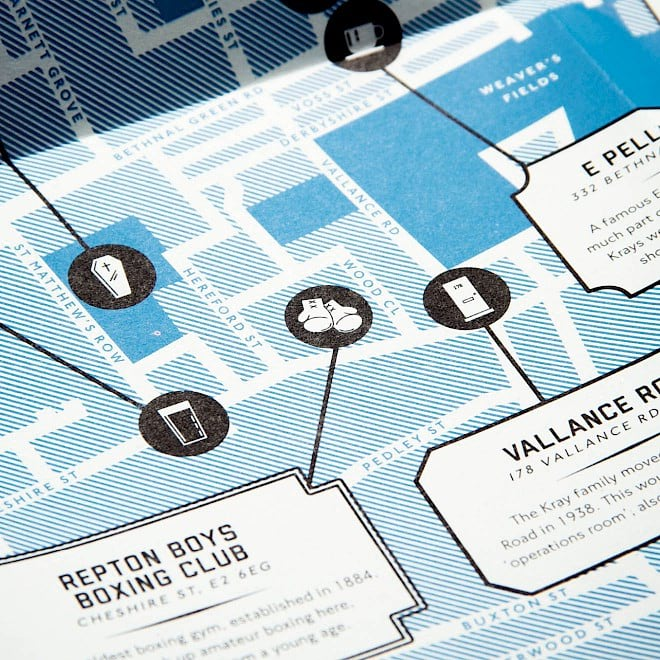 StudioCanal: Legend of the East End map icons detail