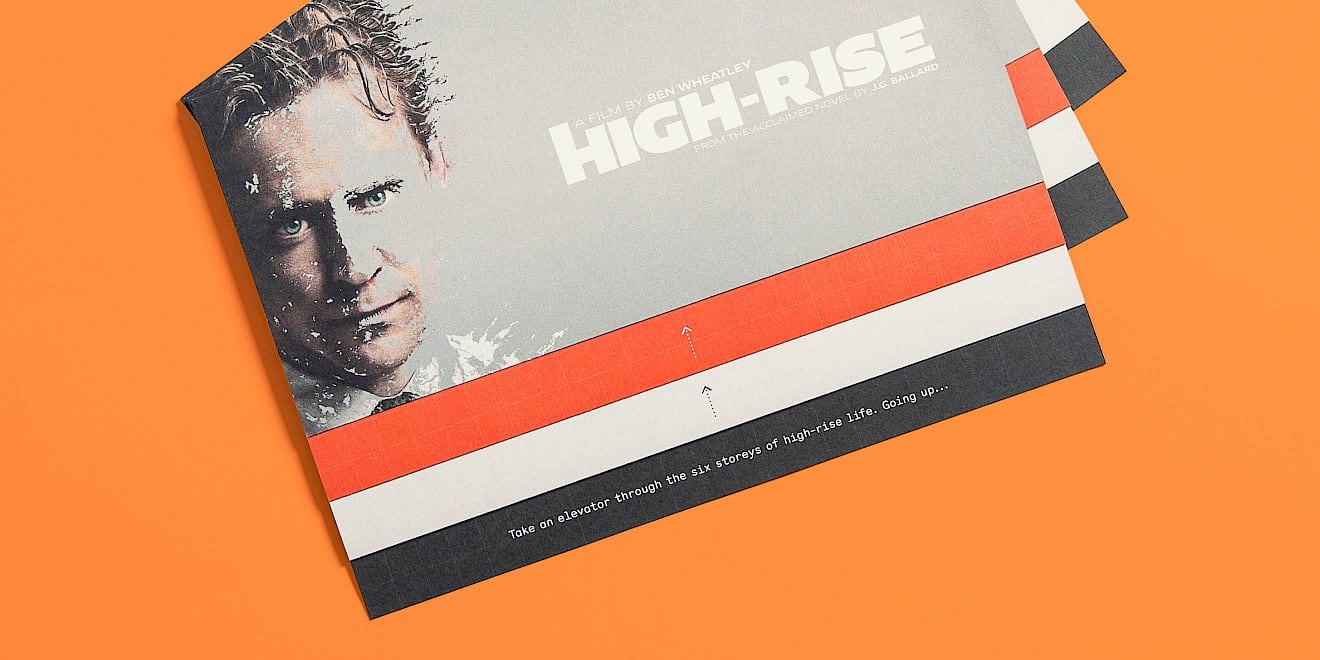 Three of the StudioCanal: High-Rise foldouts