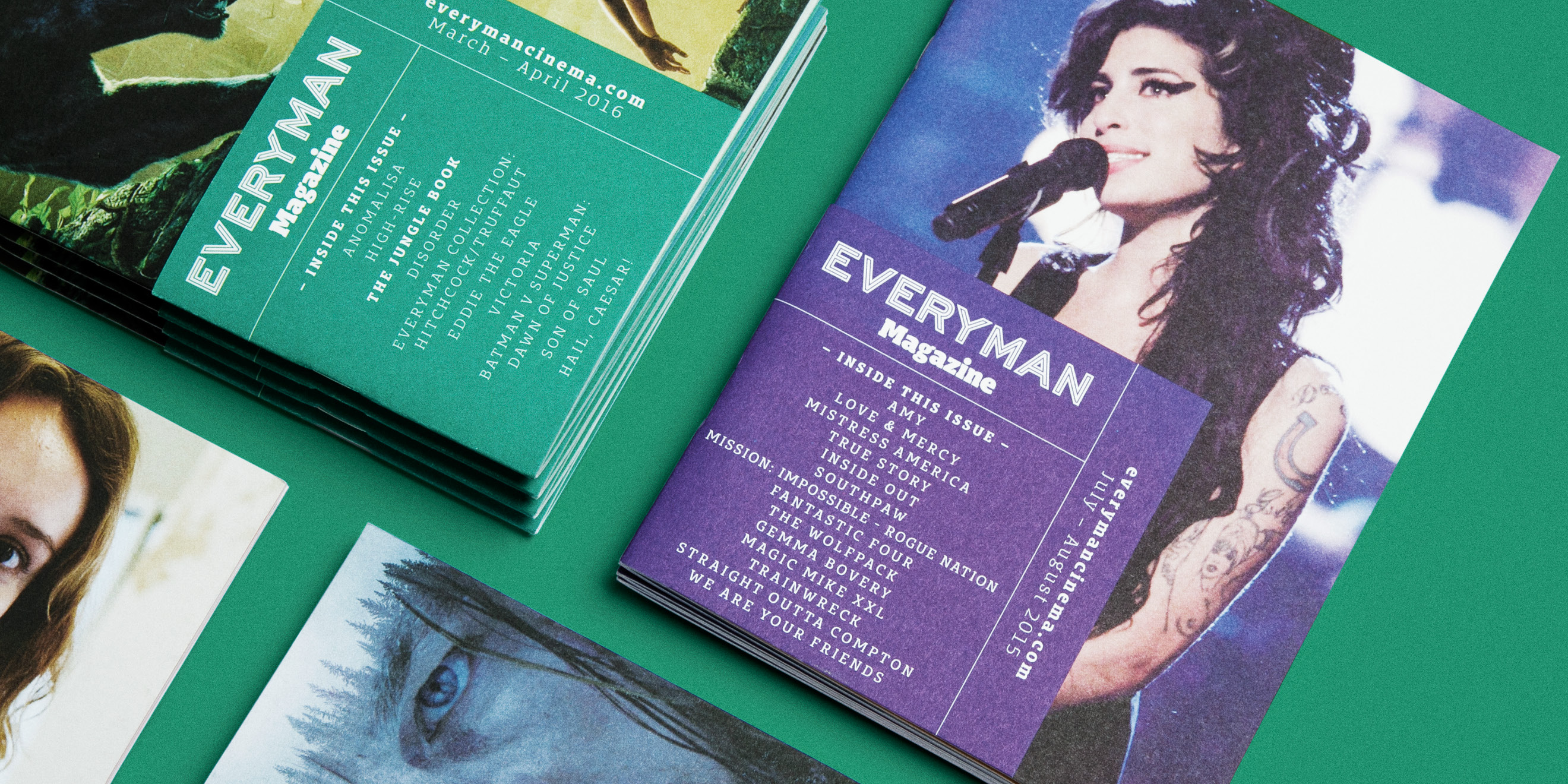 Everyman Cinemas Everyman Magazine designed and created by Human After All