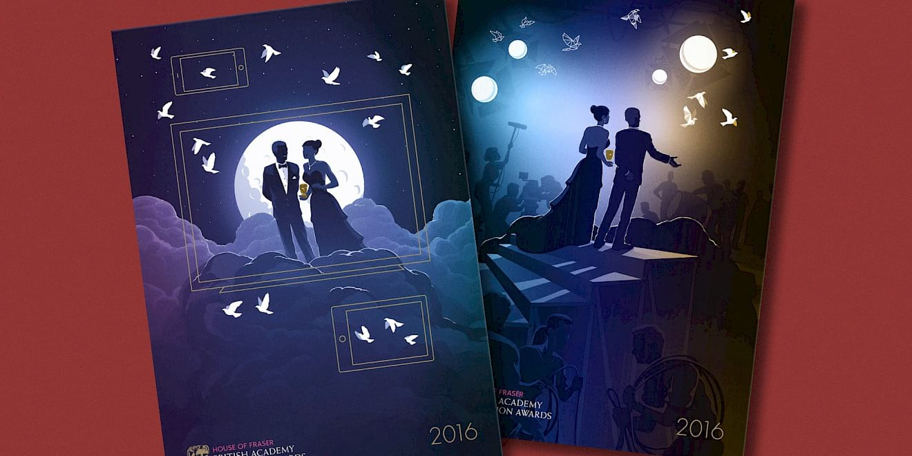 BAFTA 2016 TV and TV Craft Awards brochures