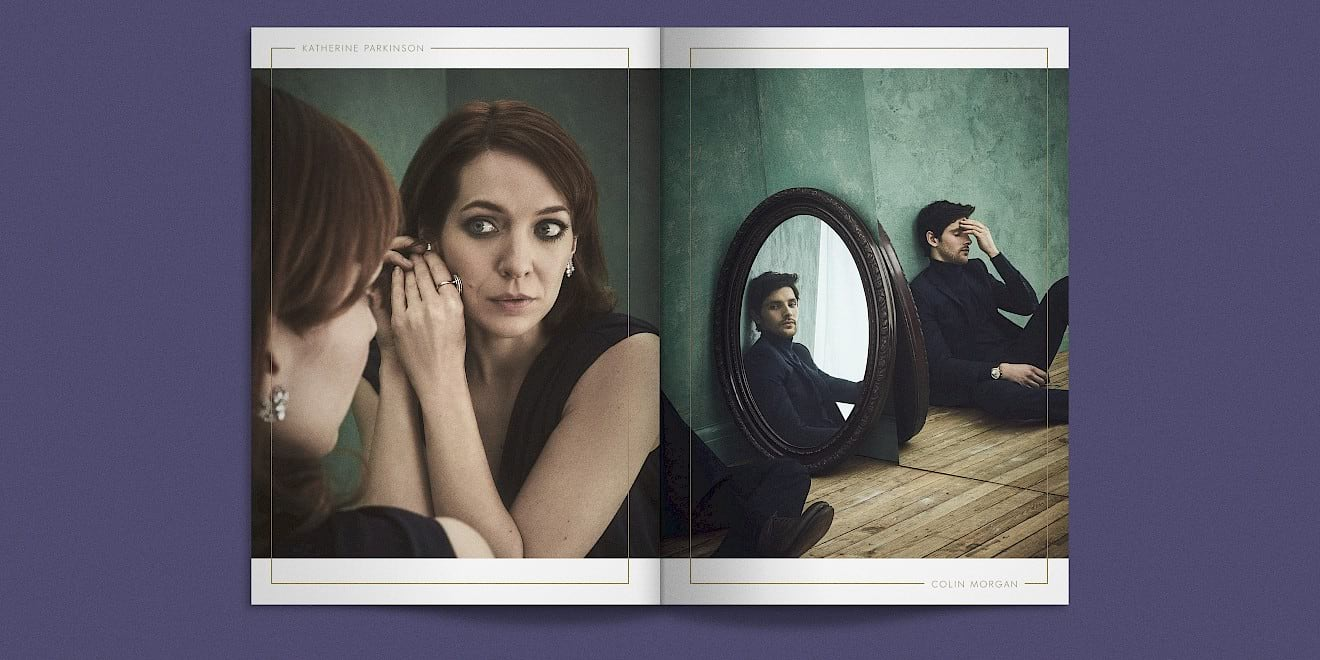 BAFTA 2016 TV Awards brochure spread 6