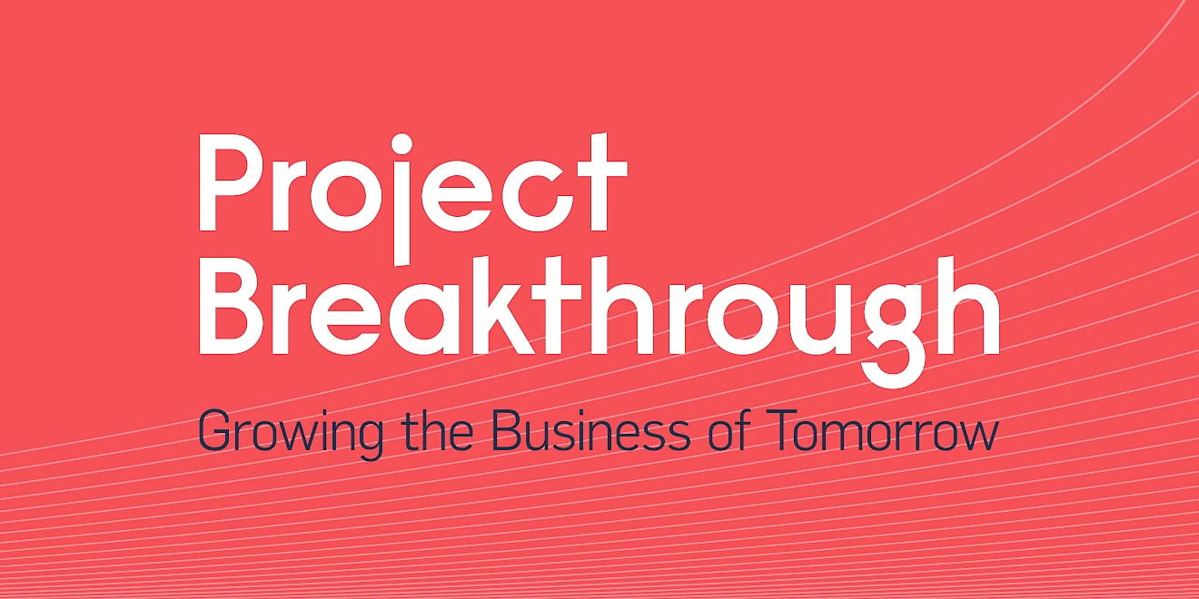 Volans Project Breakthrough brand identity by Human After All design agency