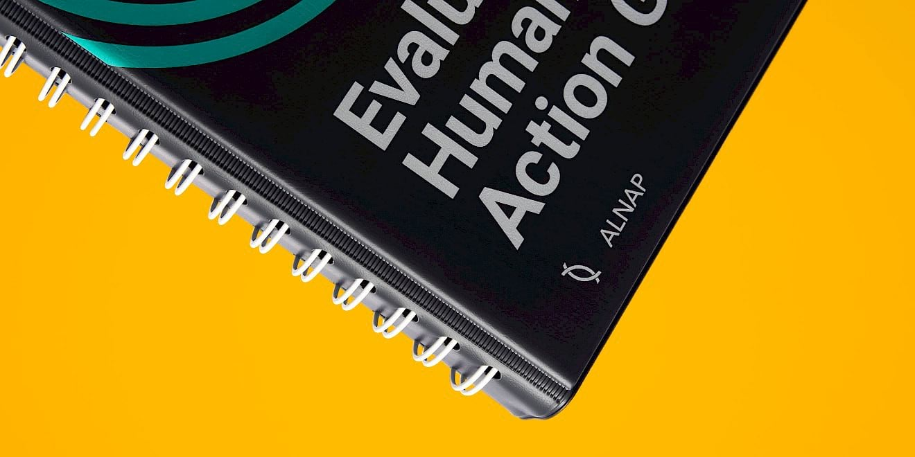 Cover design - ALNAP Evaluation of Humanitarian Action Guide - image 1
