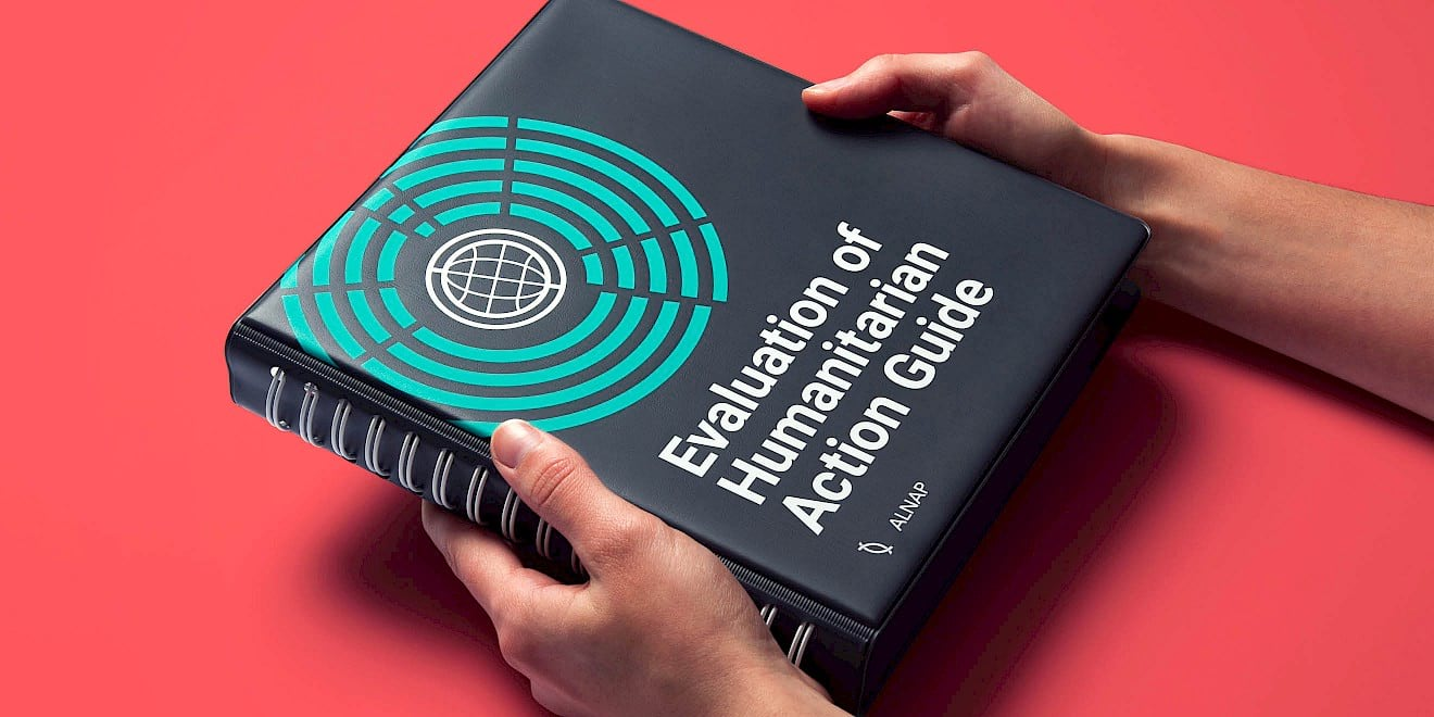 Cover design - ALNAP Evaluation of Humanitarian Action Guide - image 3