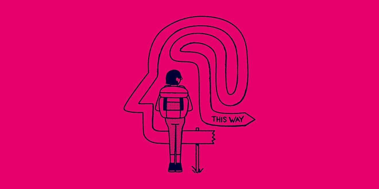 The Way To Design illustration by Christopher DeLorenzo