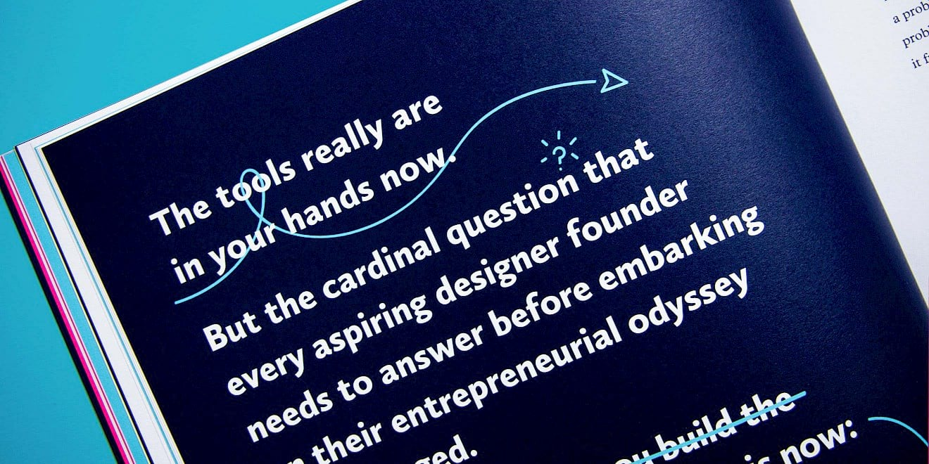 Foundation Capital: The Way To Design page quote design