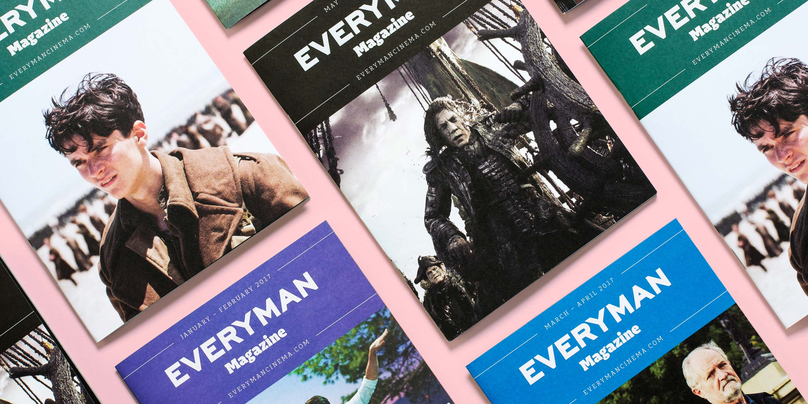Everyman cinema listings magazine by Human After All